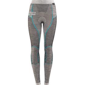 X-Bionic Apani Merino By X-Bionic Long Uw Pants Lady Black/Grey/Turquoise